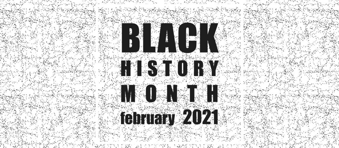Black History Month - Poster, card, banner, background